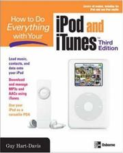Cover of: How to Do Everything with Your iPod & iTunes, Third Edition (How to Do Everything)