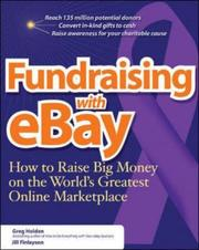 Cover of: Fundraising on eBay: how to raise big money on the world's greatest online marketplace