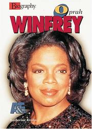 Cover of: Oprah Winfrey (Biography (a & E))