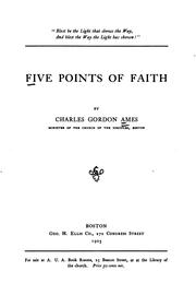 Cover of: Five Points of Faith