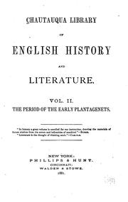 Cover of: Chautauqua Library of English History and Literature ... |