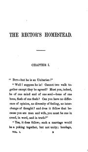 Cover of: The rector's homestead