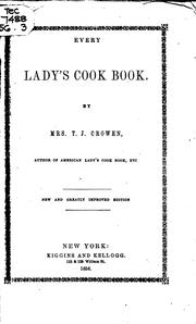 Cover of: Every Lady's Cook Book