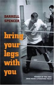 Cover of: Bring your legs with you