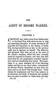 Cover of: The agent of Broome Warren