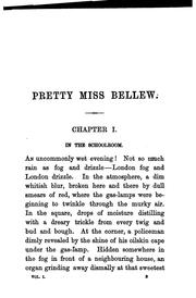 Cover of: Pretty miss Bellew, by Theo Gift | Dorothy Henrietta Boulger