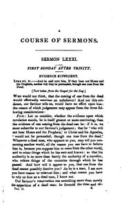 Cover of: A second course of sermons for the year, abridged from the most eminent divines of the ..