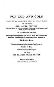 Cover of: For God and Gold
