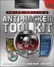 Cover of: Anti-Hacker Tool Kit, Third Edition | Mike Shema