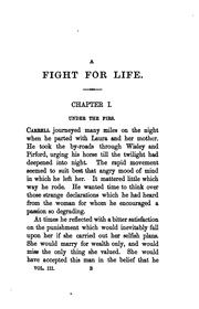 Cover of: A fight for life