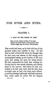 Cover of: For ever and ever: A Drama of Life