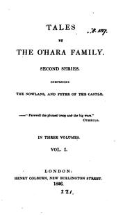 Cover of: Tales by the O'Hara Family, Volume 1