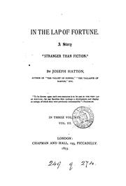 Cover of: In the lap of fortune