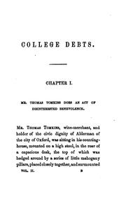 Cover of: College debts, by an Oxford M.A