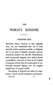 Cover of: The woman's kingdom, by the author of 'John Halifax, gentleman'