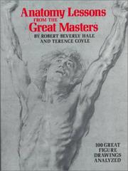Cover of: Anatomy lessons from the great masters | Hale, Robert Beverly