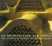 Cover of: An Architecture for People: the complete works of Hassan Fathy