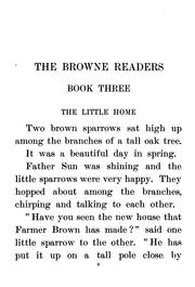 Cover of: The Browne Readers