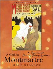 Cover of: A Club in Montmartre
