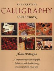 Cover of: The creative calligraphy source book