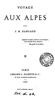 Cover of: Voyage aux Alpes