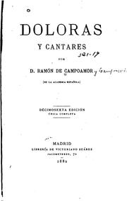Cover of: Doloras y cantares