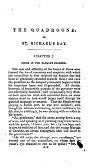 Cover of: The Quadroone, Or, St. Michael's Day | J. H. Ingraham