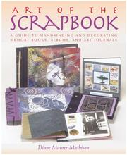 Cover of: Art of the scrapbook