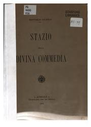 Cover of: Stazio nella Divina commedia