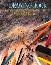 The drawing book by Richard McDaniel