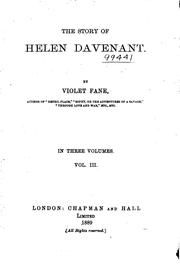 Cover of: Helen Davenant
