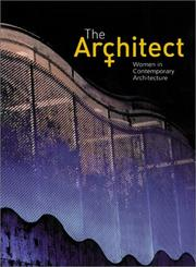Cover of: The Architect | Maggie Toy