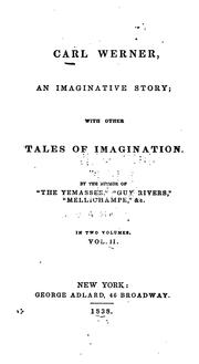Cover of: Carl Werner, an Imaginative Story: With Other Tales of Imagination