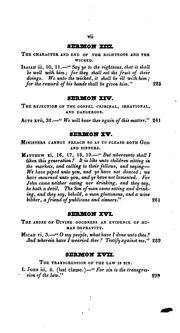 Cover of: Sermons, on Important Subjects of Doctrine and Duty