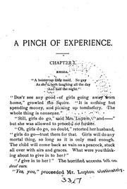 Cover of: A Pinch of Experience