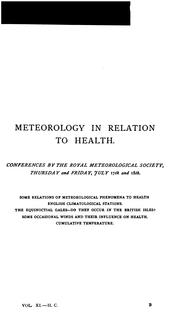 Cover of: The Health exhibition literature. v. 9 |