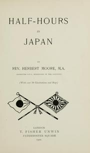 Cover of: Half-hours in Japan