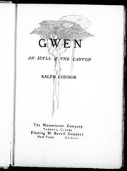 Cover of: Gwen