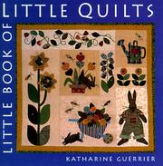 Cover of: Little Book of Little Quilts