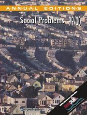 Cover of: Social Problems, 99/00