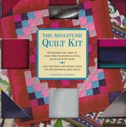Cover of: The Miniature Quilt Kit