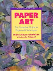 Cover of: Paper art