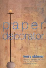 The Paper Decorator by Kerry Skinner, Mel Yates, Tim France