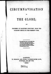 Cover of: Circumnavigation of the globe |
