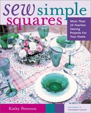 Cover of: Sew simple squares | Kathy Peterson