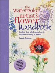Cover of: The watercolor artist's flower handbook