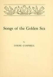 Cover of: Sons of the golden sea | Lorne Campbell