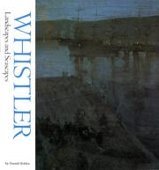 Cover of: Whistler landscapes and seascapes
