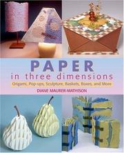 Cover of: Paper in Three Dimensions