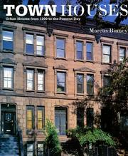 Cover of: Town Houses